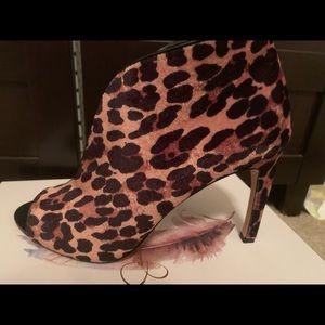 Jessica Simpson JP Camaya Leopard Print Booties